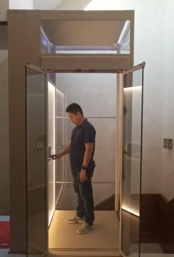 我们四川温馨的家用电梯图1