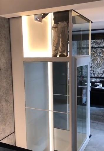 我们四川温馨的家用电梯图