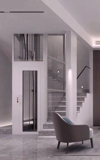 北欧试家用别墅电梯图