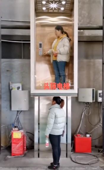 升降式便捷家用电梯图