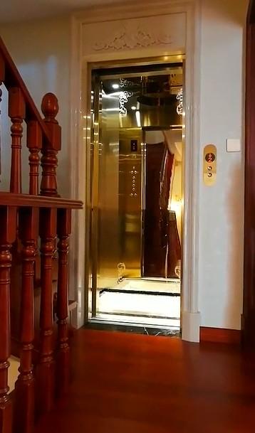 双开门型式的别墅电梯