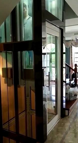 豪华安全的别墅电梯图