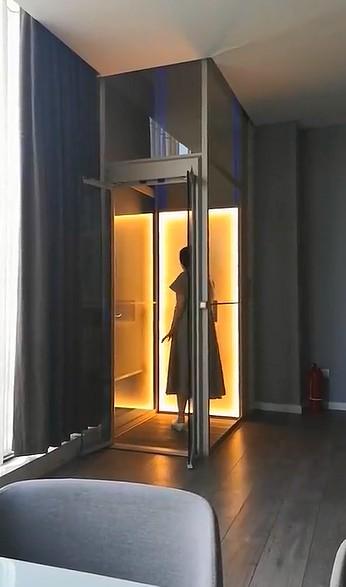 温馨舒适的别墅家用电梯1