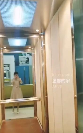 成都自已的家用电梯安装完工展示图