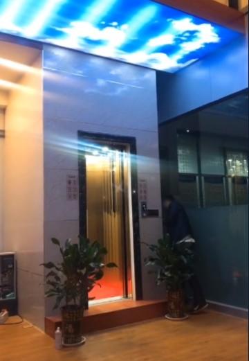 自家用别墅电梯安装展示图