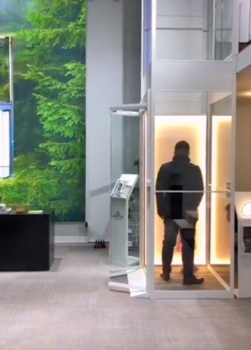 绵阳农村的家用电梯