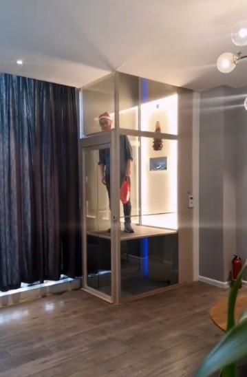 电梯安装完成后客户现场体验