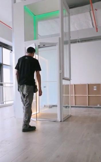 奥里斯家用电梯t实拍图