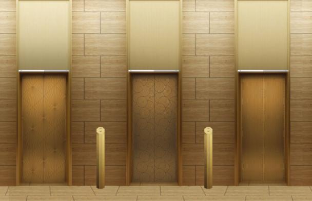 写字楼电梯门框