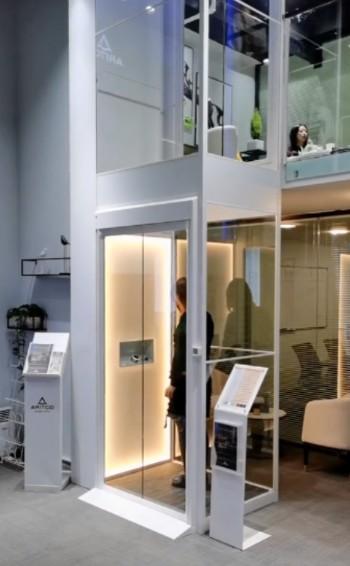 高端大气的别墅电梯成都体验管