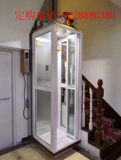 眉山已经装好的便捷式别墅电梯非常好看