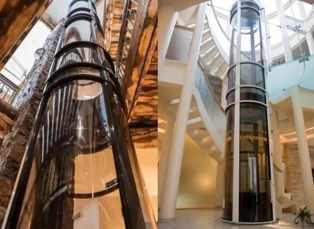 三菱圆弧电梯相当的大气和漂亮