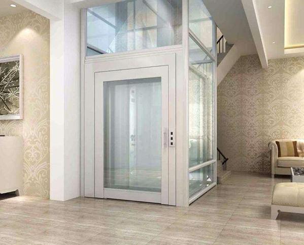 成都奥里斯电梯公司安装的别墅电梯