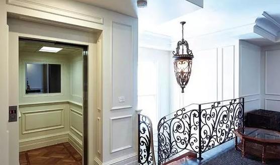 别墅家用电梯很漂亮