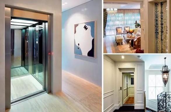 别墅电梯外观的不同风格