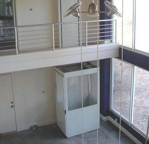 两层小型家用电梯