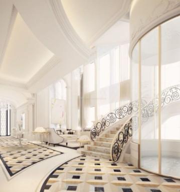 豪华的家用电梯设计样版