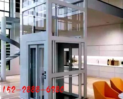 一台小型家用电梯很大气