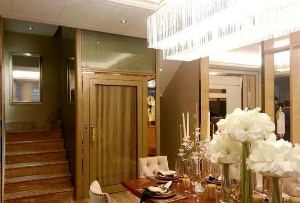 成都电梯公司安装的别墅电梯