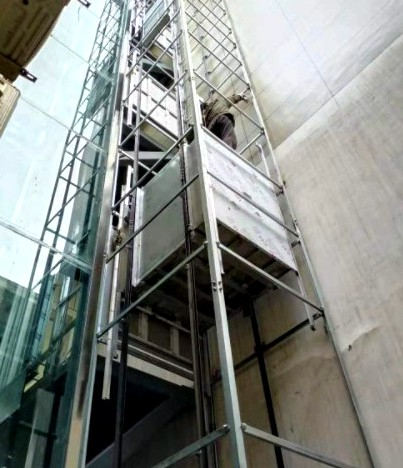 成都旧楼电梯改造