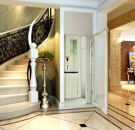 别墅电梯门套装潢