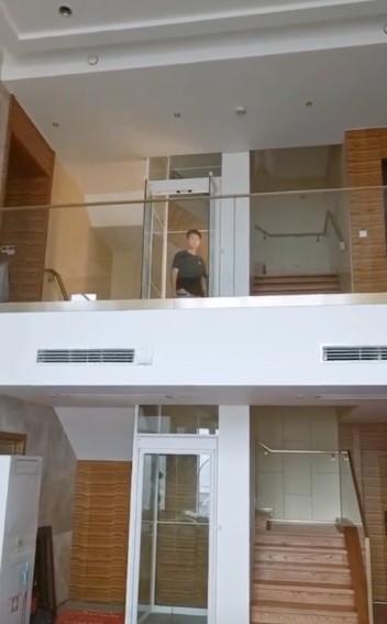 两层别墅家用电梯