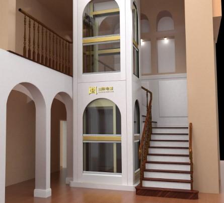 装修别墅电梯的外观