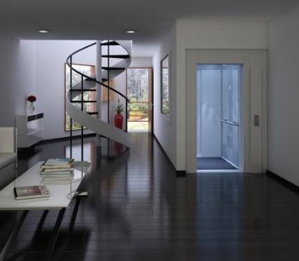 漂亮的家用电梯