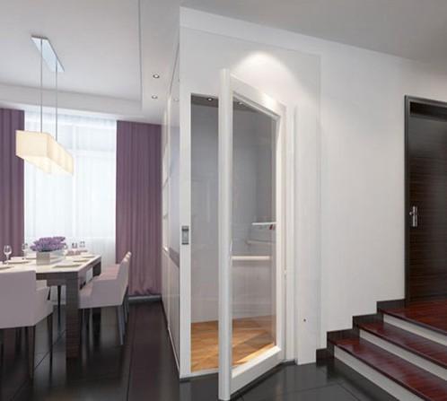 这是一款小型别墅电梯