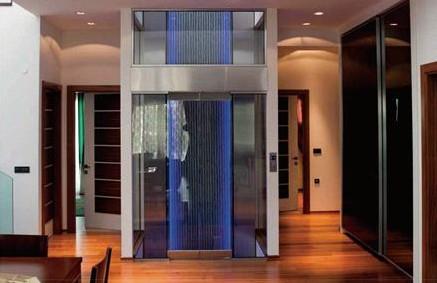 成都别墅电梯很漂亮
